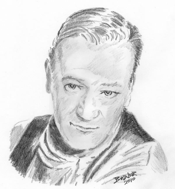 John Wayne par bigbudmeg